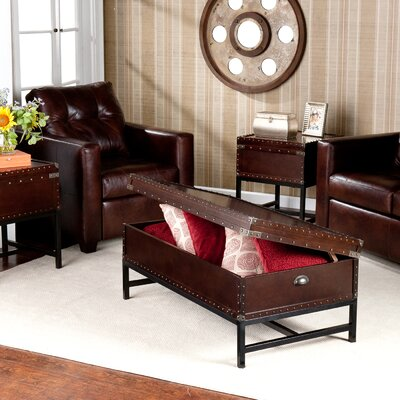 Wildon Home ® Southport 3 Piece Trunk Coffee Table Set
