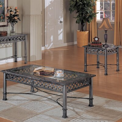 Wildon Home ® Elisa 3 Piece Coffee Table Set