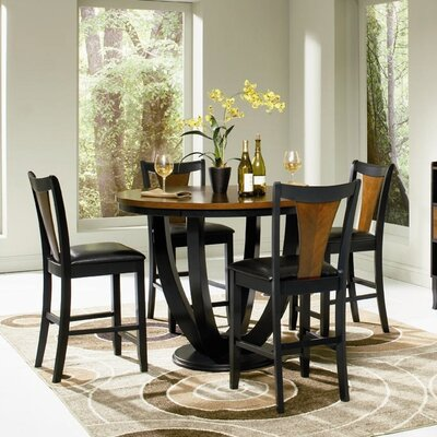Wildon Home ® Beals Counter Height 5 Piece Dining Set