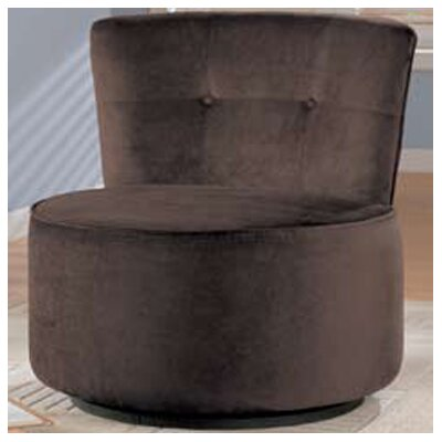 Swivel Fabric Lounge Chair