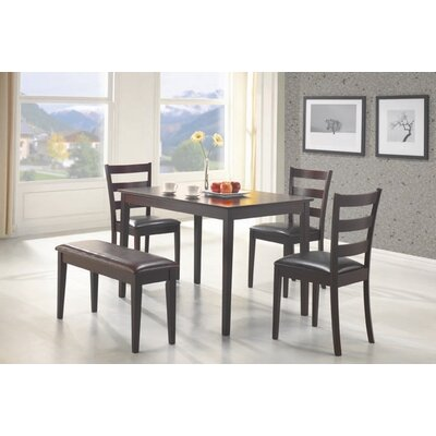 Wildon Home ® Guilford 5 Piece Standard Height Dining Set