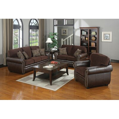 Wildon Home ® Milan  Living Room Collection