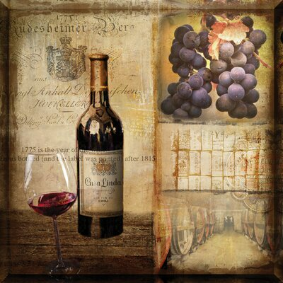 Wildon Home ® Vintage Wine Wall Art