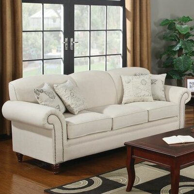 Wildon Home ® Capetown Linen Blend Sofa