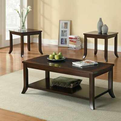 Wildon Home ® 3 Piece Coffee table Set