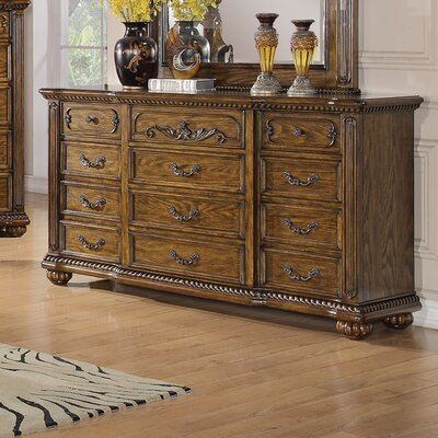 Wildon Home ® Backbay 12 Drawer Dresser