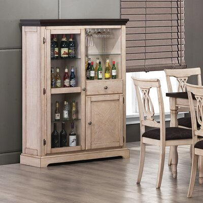 Wildon Home ® Atlantic Wine Cabinet