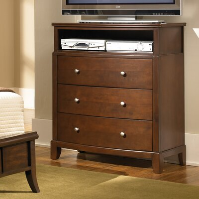 Wildon Home ® Audrey 3 Drawer Media Chest