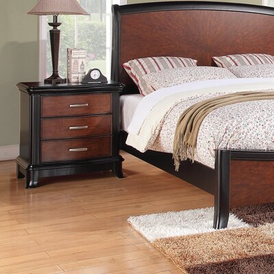Wildon Home ® Neptune 3 Drawer Nightstand