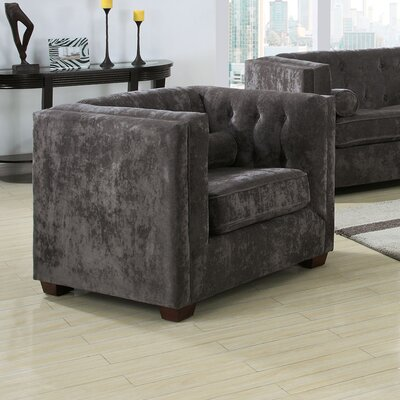 Wildon Home ® Alexa Velvet Chair