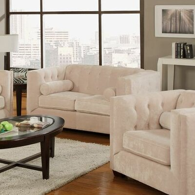 Wildon Home ® Alexa Velvet Loveseat