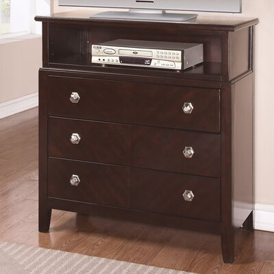 Wildon Home ® Allston 3 Drawer Media Chest