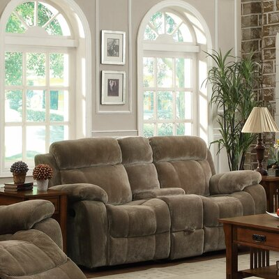 Wildon Home ® Victor Double Reclining Gliding Loveseat