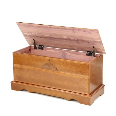 Wildon Home ® Wolf Creek Cedar Chest with Locking Lid