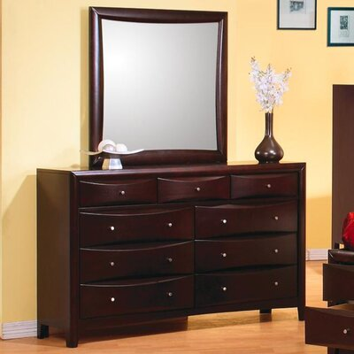 Wildon Home ® Applewood 9 Drawer Dresser