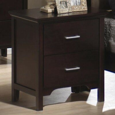 Wildon Home ® Morgan 2 Drawer Nightstand