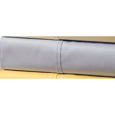 Wildon Home ® 300 Thread Count Sateen Solid Combed Cotton Sheet Set