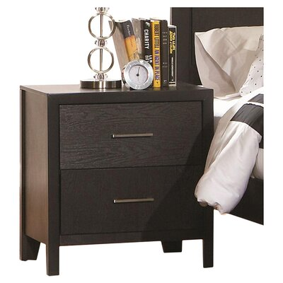 Wildon Home ® Lincolnville 2 Drawer Nightstand