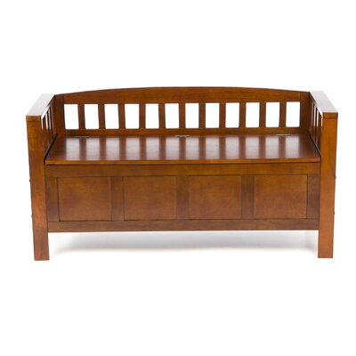 Wildon Home ® Somerton Wooden Entryway Storage Bench