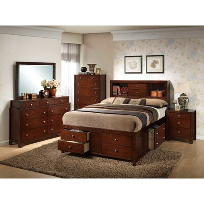 Wildon Home ® Weber Storage Panel Bedroom Collection