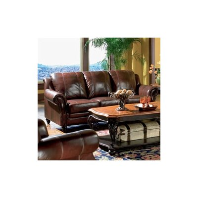 Wildon Home ® Harvard Leather Sofa