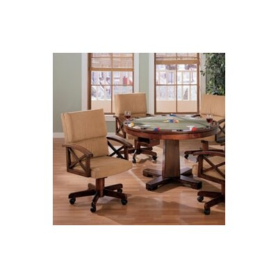 Wildon Home ® Bermuda Poker Table Set