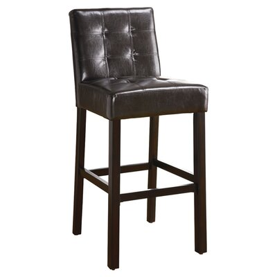 Wildon Home ® Highland Park Barstool in Cappuccino