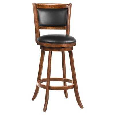 "Wildon Home ® Jackman 29"" Barstool in Dark Espresso"