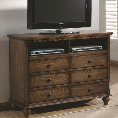 Dartmouth 6 Drawer Media Chest
