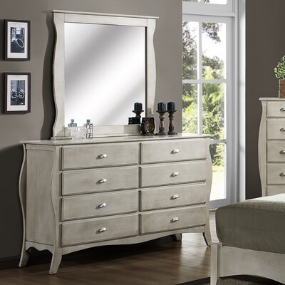 Wildon Home ® Astonia 8 Drawer Dresser