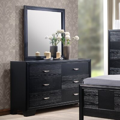 Wildon Home ® Verona 6 Drawer Dresser