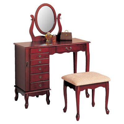 Wildon Home ® Winlock Vanity Set with Mirror