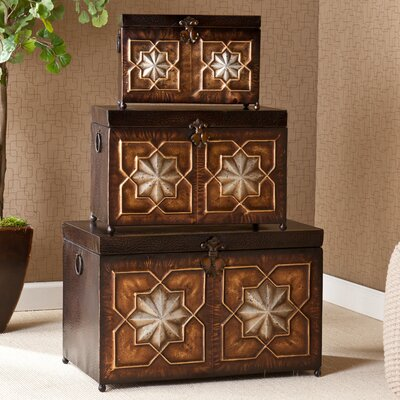 Wildon Home ® Trunk 3 Piece Set
