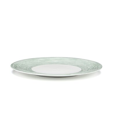 "Alessi Acquerello 10.63"" Dinner Plate"