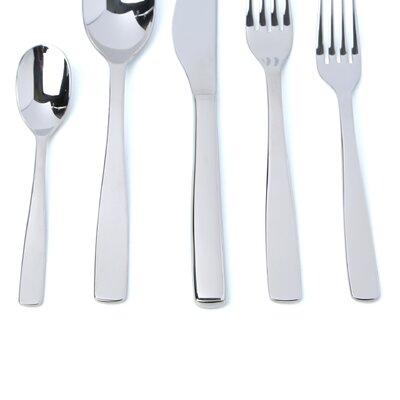 Alessi Knifeforkspoon 5 Piece Flatware Set