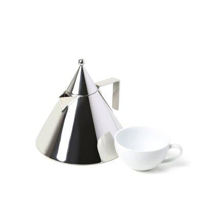 Alessi Aldo Rossi 2-qt. Il Conico Water Tea Kettle