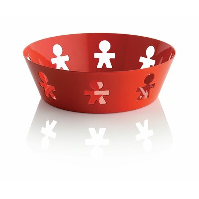 "Alessi Girotondo 2.25"" Round Basket by King Kong"