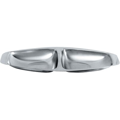 Alessi Carlo Mazzeri Hors D'Oeuvre Two Section Tray