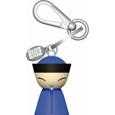 Alessi Chin Family by Stefano Giovannoni Key Ring