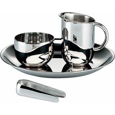 Alessi Bauhaus 4 Piece Coffee and Tea Server Set