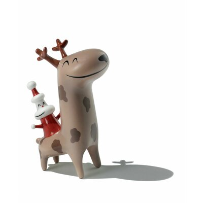 Christmas Cowboy Figurine