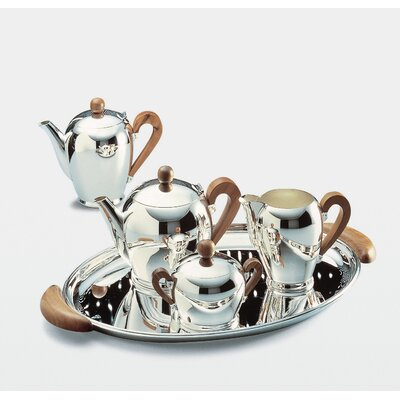 Alessi Bombe 4 Piece Coffee and Tea Server Set