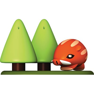 Alessi Forest Gump 3-Piece Condiment Set