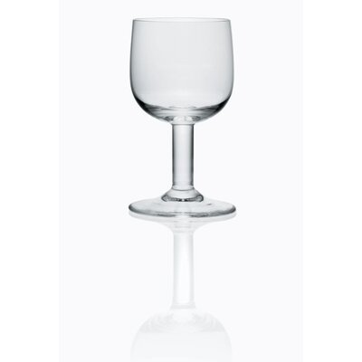 Alessi Glass Goblet by Jasper Morrison