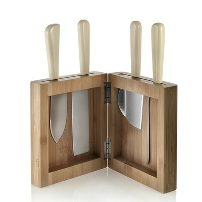 "Alessi ""Milky Way Minor"" Knife Block Set"