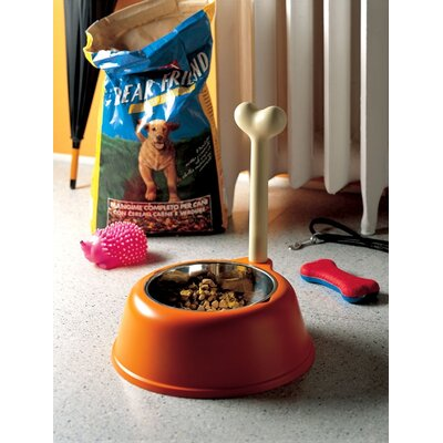 Alessi Lupita Dog Bowl by Miriam Mirri