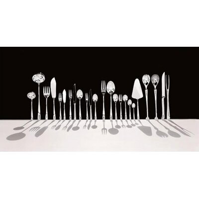 Alessi Caccia Dessert Spoon in Mirror Polished by Luigi Caccia Dominioni