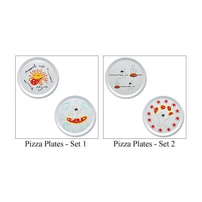 "Alessi A di Alessi - Dream Factory 12.2"" Pizza Plates by Massimo Giacon"