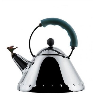 Alessi 9093 Miniature Kettle with Bird Whistle by Michael Graves