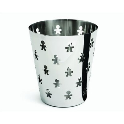 Alessi Girotondo Waste Basket by King Kong